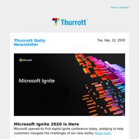 Microsoft Ignite 2020 is Here