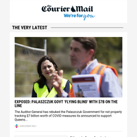 Govt 'flying blind' with $7b on the line | Former PM's daughter dating Hollywood director | Maroons Origin bolters