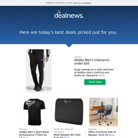 Your DealNews: Adidas Men's Clearance: under $50 & More