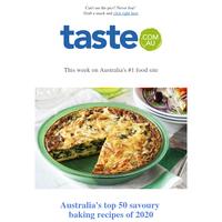 Australia's top 50 savoury baking recipes of 2020