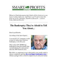 The Big Bankruptcy You Should Be Afraid Of