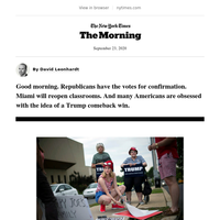 Wednesday Morning: How Trump can win