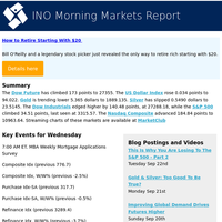 Sector Analysis and Key Events for Wednesday