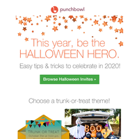 Be the Halloween hero! 🎃 Easy tips & tricks to celebrate in 2020.