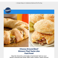 Cheesy Ground Beef Recipes That Taste Like Fast Food