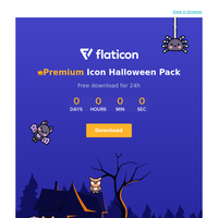 🎃Free download for 24 hours - Premium Halloween Icon Pack
