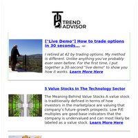 5 Value Stocks In the Technology Sector, Plus 1 Rising Standout