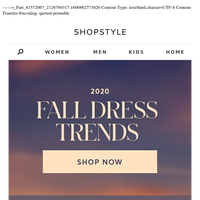 5 Fall Dress Trends You Need To Know