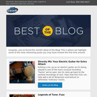 September's Best of the Blog