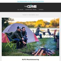 ALPS Mountaineering, Honey Stinger, inov-8, LAMO, Sandals & Flip-Flops, Snapback Hats, QALO, Merrell, Cycling Gear & Apparel, Merino Socks, and More