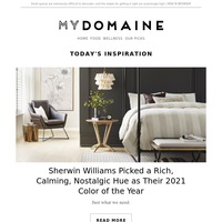 The Sherwin Williams Color of the Year is here