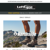 Seek fresh air with Northside, Timberland, ALPS Mountaineering, Slash and Burn Co., and SCARPA