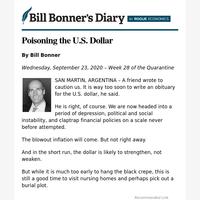 Poisoning the U.S. dollar