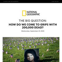 SCIENCE: How to cope with a big death toll