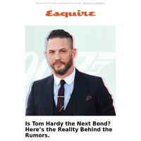 Is Tom Hardy the Next Bond? Here's the Reality Behind the Rumors.