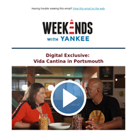 Weekends with Yankee Digital Exclusive: Vida Cantina in Portsmouth