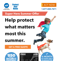 Your ADT Monitoring offer has arrived