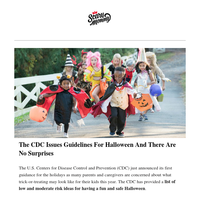 The CDC Issues Guidelines For Halloween And There Are No Surprises