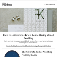 How to Tactfully Spread the Word That You're Having a Family-Only Wedding
