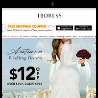 Autumn Wedding dresses+Maxi dresses