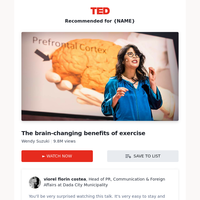 {NAME}, here's why you should watch this talk...