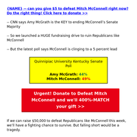 Amy McGrath MIRACLE