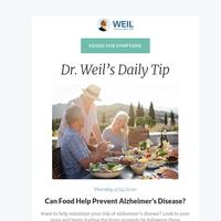 Can Food Help Prevent Alzheimer's Disease?