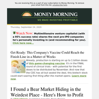 Chris found a bear market hiding in the weirdest place – here's how to p rofit