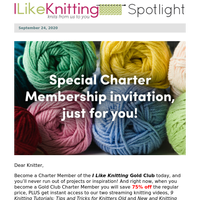 Please Accept or Decline Your Knitting Benefits