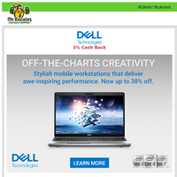 Dell Technologies: Precision Sale Event - Up to 38% off + 3% Cash Back