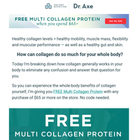 My #1 recommended product, yours free