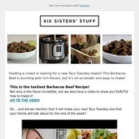 NEW Instant Pot Recipe: Barbacoa Beef