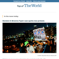 Racial justice protests resume after Breonna Taylor grand jury decision