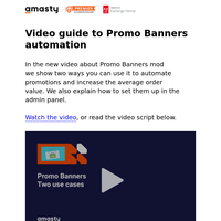 [Video] How to automate promotions and increase the average order value
