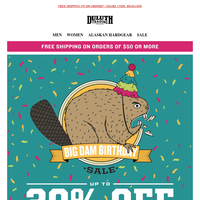 Birthday Suit Savings - 30% OFF Underwear!