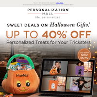 🎃 Spooktacular Savings! 40% Off Halloween Gifts & Décor