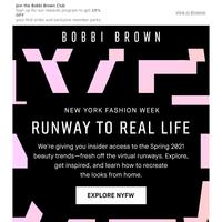Get your Fashion Week fix.