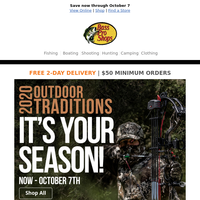 Enjoy outdoor traditions both old and new!