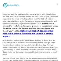 re: SCOTUS, the Senate, and the Biden-Harris administration