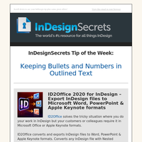 Tip of the Week: Keeping Bullets and Numbers in Outlined Text
