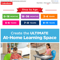 Comfy Furniture Sets for At-Home Learning + Faves They'll Love!