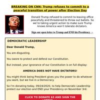 Stop Trump's Supreme Court nominee