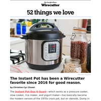 52 Things We Love: Instant Pot