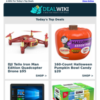 Forehead Thermometer $10 | DJI Iron Man Drone $95 | Halloween Pet Costumes $4+ | Acer 11"|200|200|?|5a78d423cb0c2f0909c9424a0595bb62|False|UNLIKELY|0.34885740280151367
