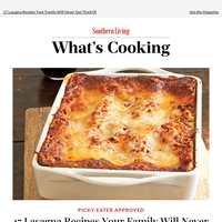Easy Lasagna Recipes We Can't Wait To Make
