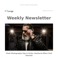 Flash Photography Tips & Tricks   Early Registration for PHOTOPLUS+   Tutorials, Reviews & Other News!