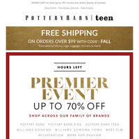 ⏰ Hurry! These Premier Day deals END TONIGHT > > >