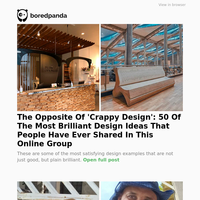 The Opposite Of 'Crappy Design': 50 Of The Most Brilliant Design Ideas That People Have Ever Shared In This Online Group