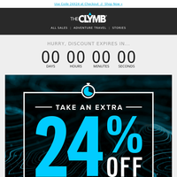 Extra 24% Off Sale Last Chance