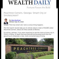 Peachtree Corners, Georgia: Smart City or Smokescreen?